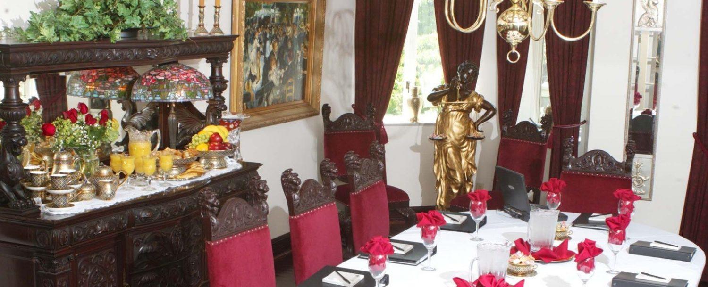 Buhl Mansion formal dining room meeting