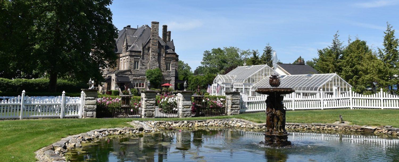 Buhl Mansion gardens 3