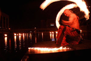 WaterFire Performer