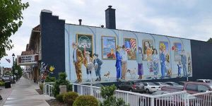 Downtown Grove City PA Mural